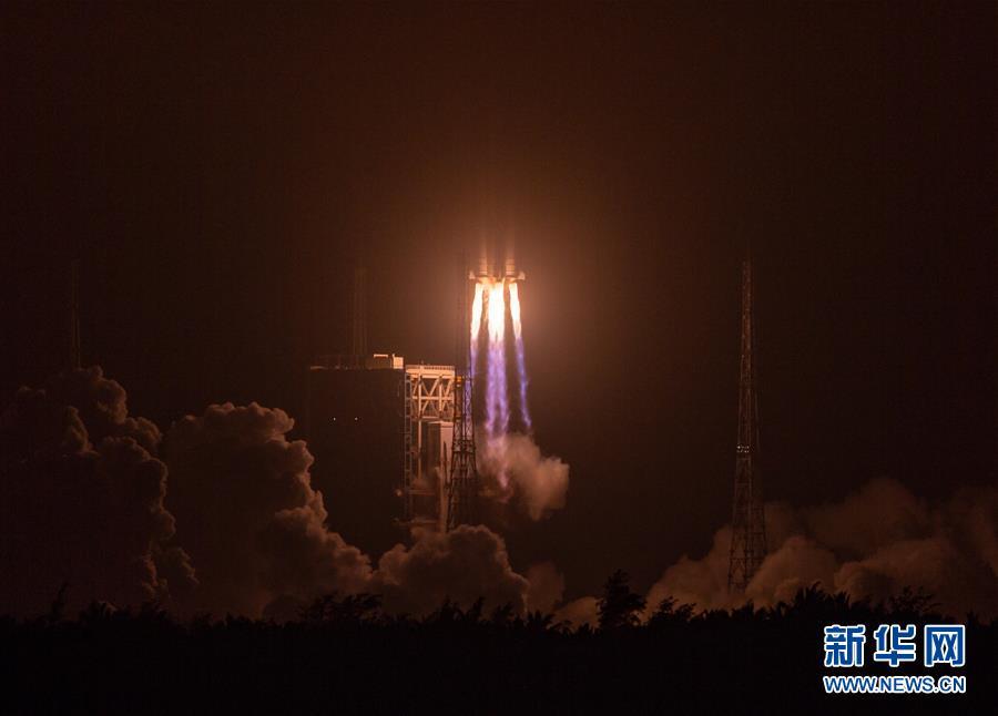 (科技)(5)长征七号改遥二运载火箭发射成功