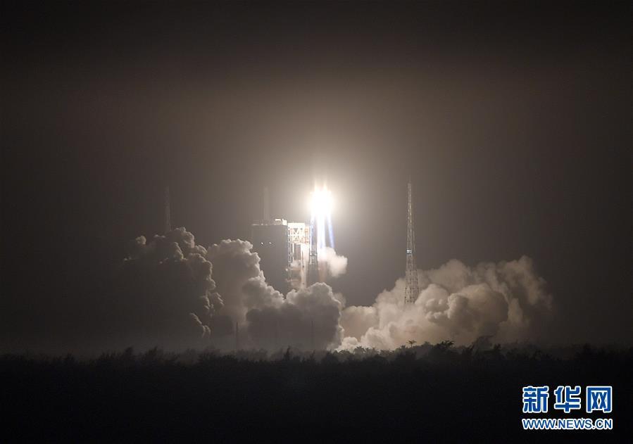 (科技)(9)长征七号改遥二运载火箭发射成功