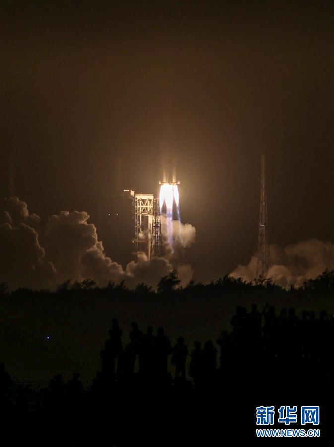 (科技)(11)长征七号改遥二运载火箭发射成功